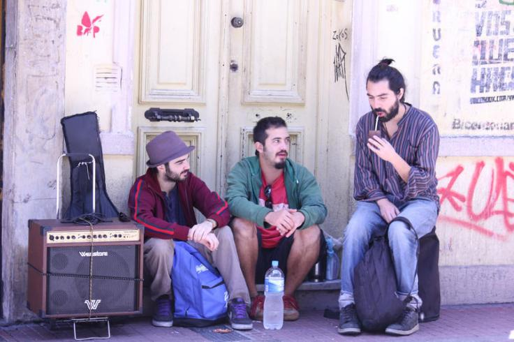Buenos Aires: street buskers