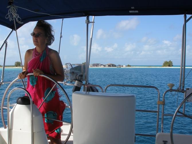 Sailing, Los Roques, Venezuela, South America
