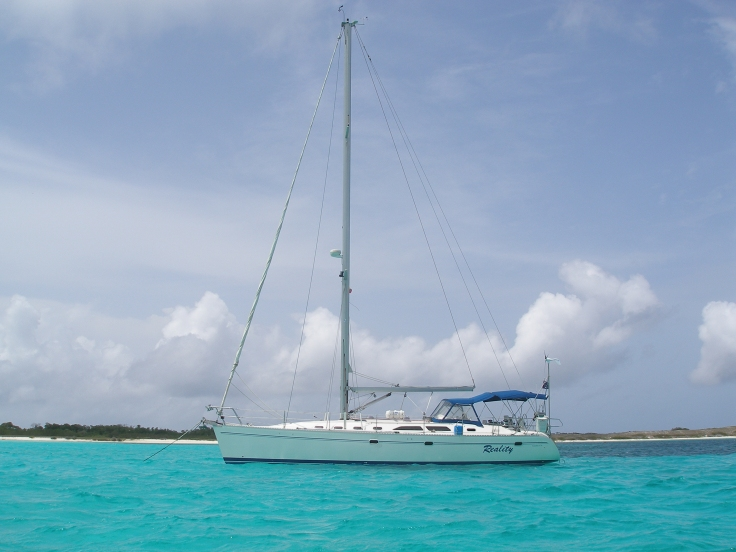 Sailing, Los Roques, Venezuela, South America