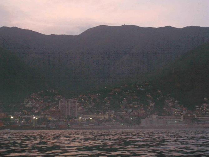 Venezuela: Caracas dawn sailing