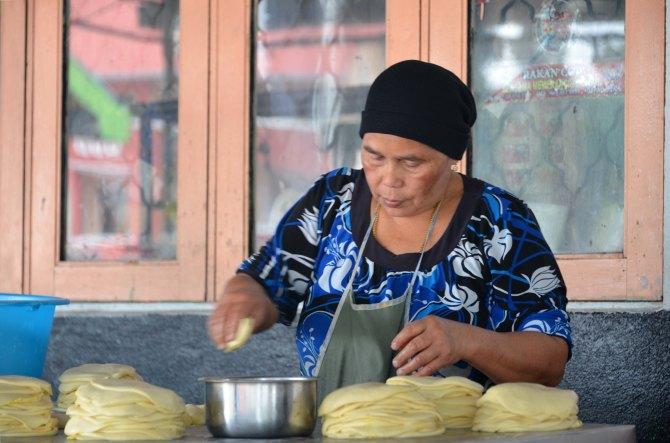 Brinchang: Roti chef