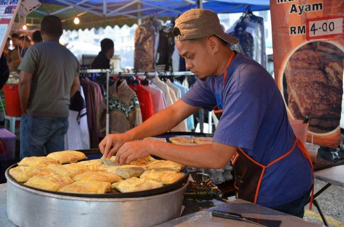 Malaysia: Brinchang Night Market delicious Murtabak
