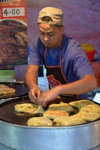 Malaysia: Brinchang Night Market, Murtabak