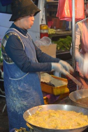 Malaysia: Brinchang Night Market wok food
