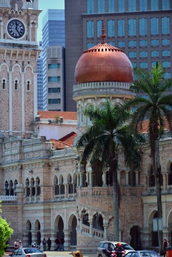 Kuala Lumpur: Sultan Abdul Samad Building - Independence Square