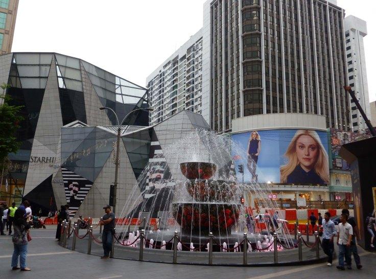 Kuala Lumpur:Entrance to Pavillion centre