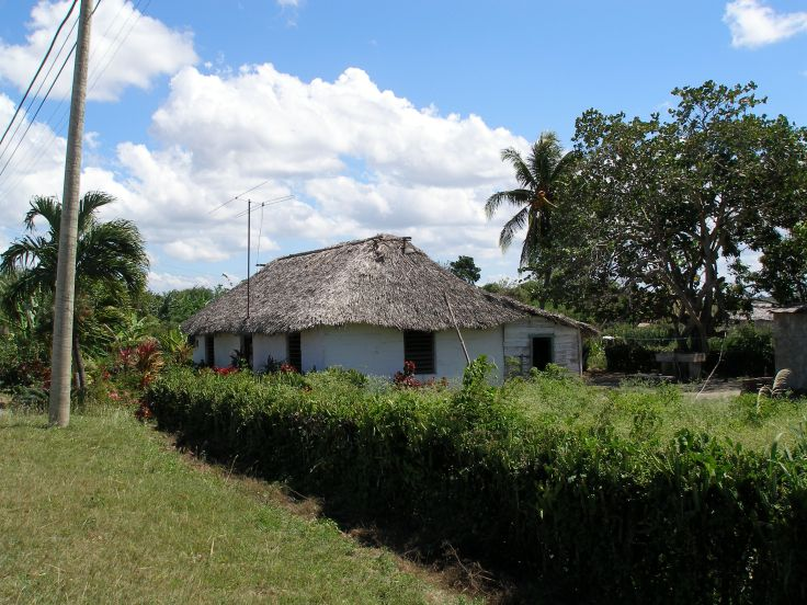 Cuba: local house