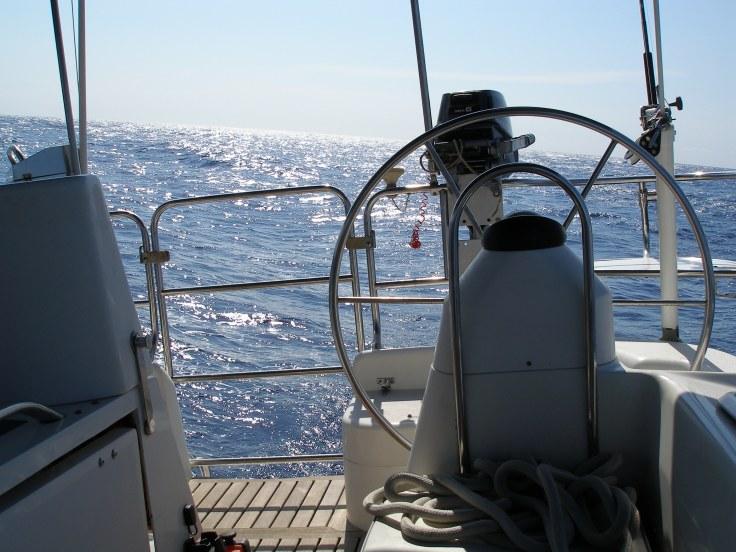 Caribbean: sailing, Catalina 47'