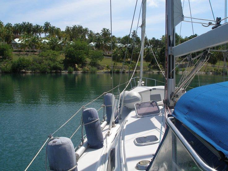 sailing boat, Ille a vache, Haiti