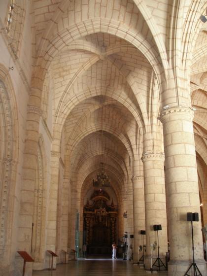 Dominican Republic: Santo Domingo church cloisters, Caribbean