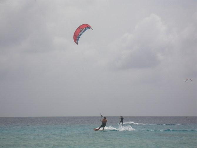 Bonaire: Kite surfing
