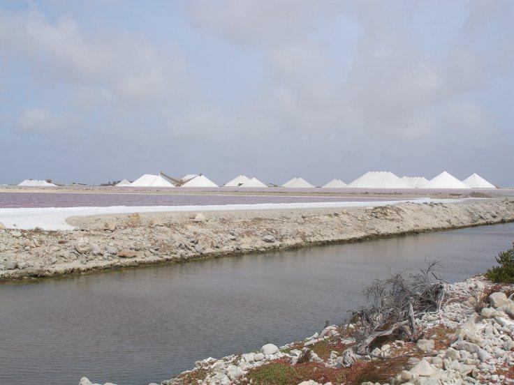 Bonaire: salt mines