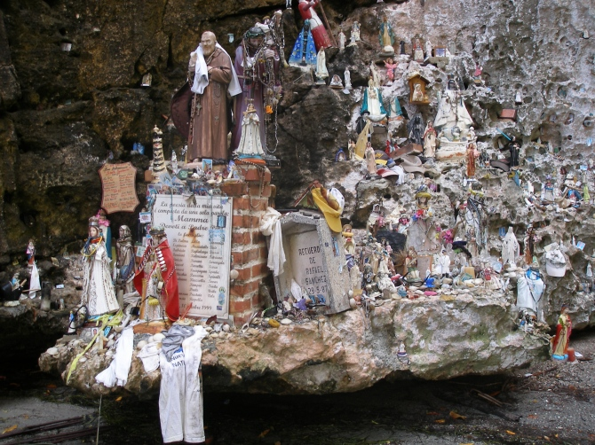 Chichiriviche: Shrine