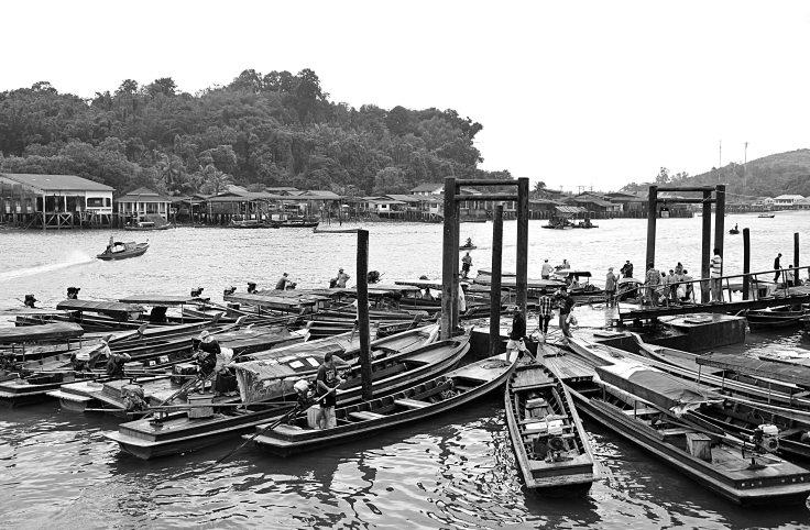 Ranong, boat, transport, Thailand