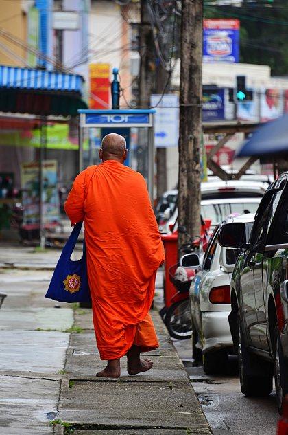 Ranong, Thailand, Monk
