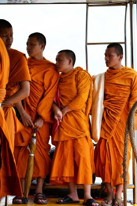 Bangkok, Thailand, Monks