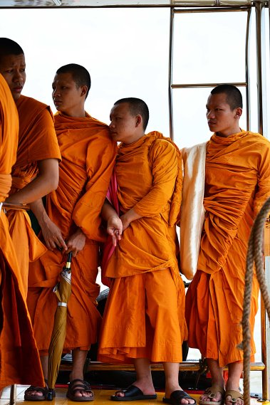 Bangkok, Thailand, Monks