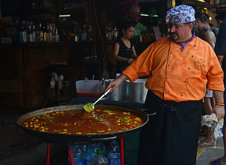 Bangkok, Thailand, markets, food