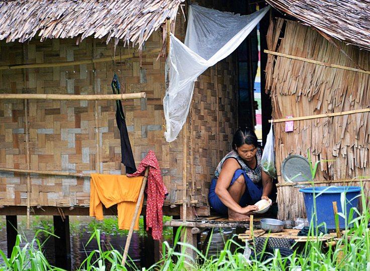 Myanmar, Burma, local, hut
