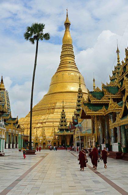 Shwedagon Paya, Burma, Myanmar, temple