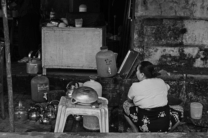 Myanmar, Burma, Thailand, restaurant