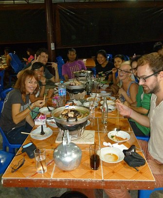 Chonthicha Korean BBQ restaurant, Khao Lak, Thailand