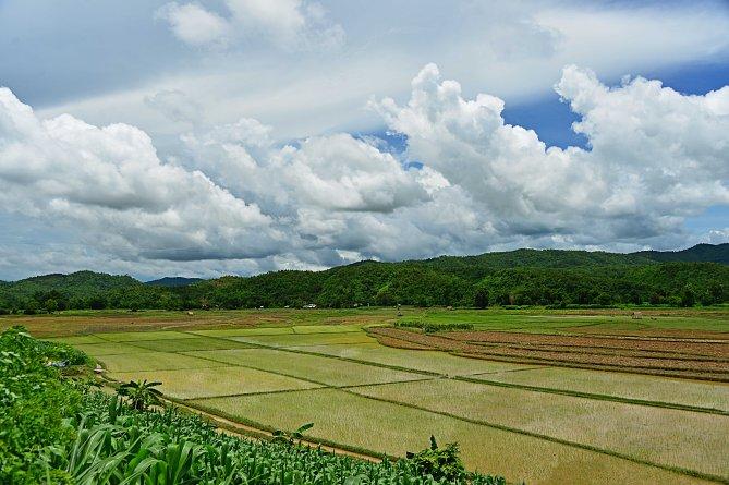Burma, Hsipaw, vista, Myanmar