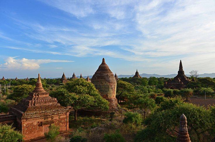 bagan, temples, burma, myanmar
