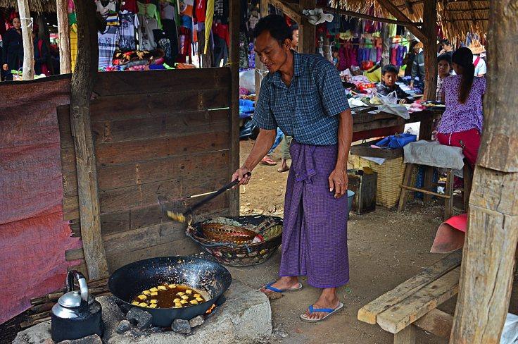 Shan, Burma, Myanmar, Inle Lake, markets