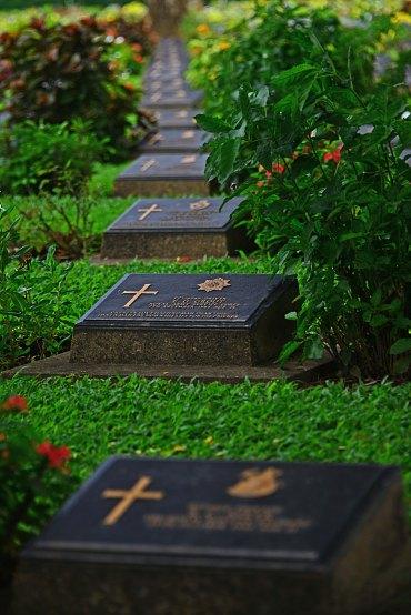 Kanchanaburi, cemetery