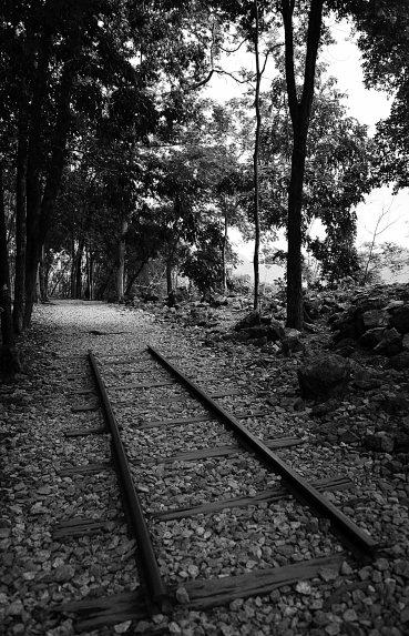Kanchanaburi, Hellfire Pass, railway