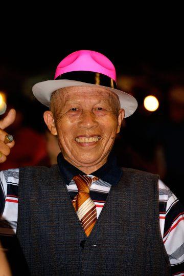 Thailand: night dancing in Chiang Rai