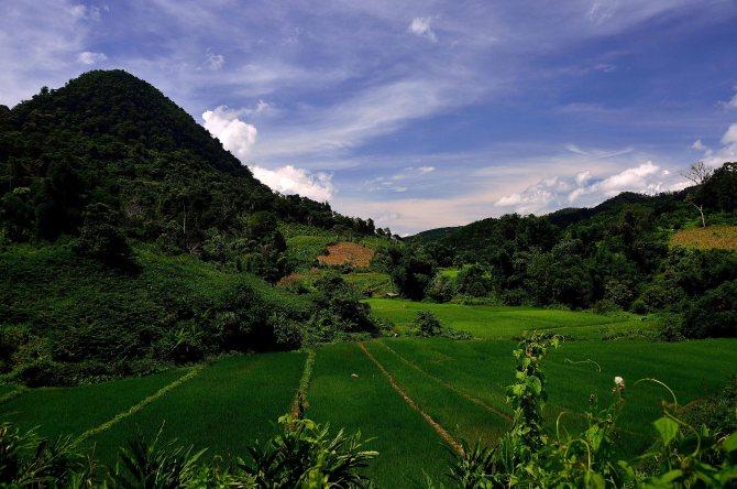 Laos: Luang Namtha vistas