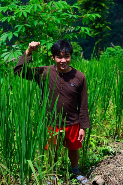 Lahu Village, Luang Namtha, Laos, trekking