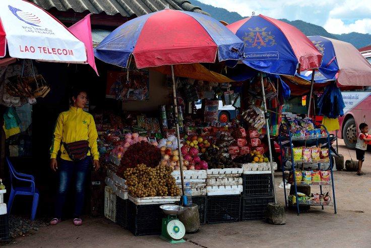 Laos: Luang Namtha, market