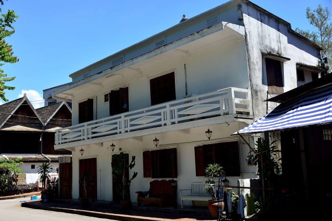 Luang Prabang, Laos, architecture