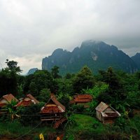Vang Vieng - backpacker haven in Northern Laos