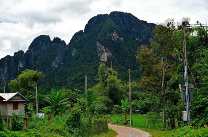 Vang Vieng, Laos, landscape