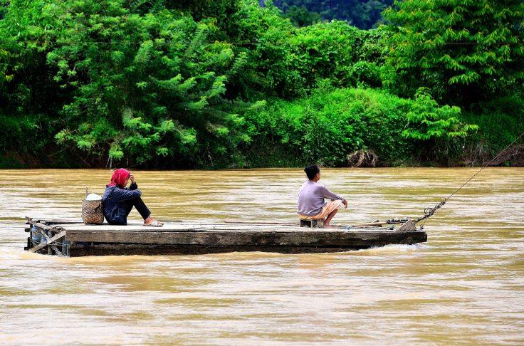 Vang Vieng, Laos, river