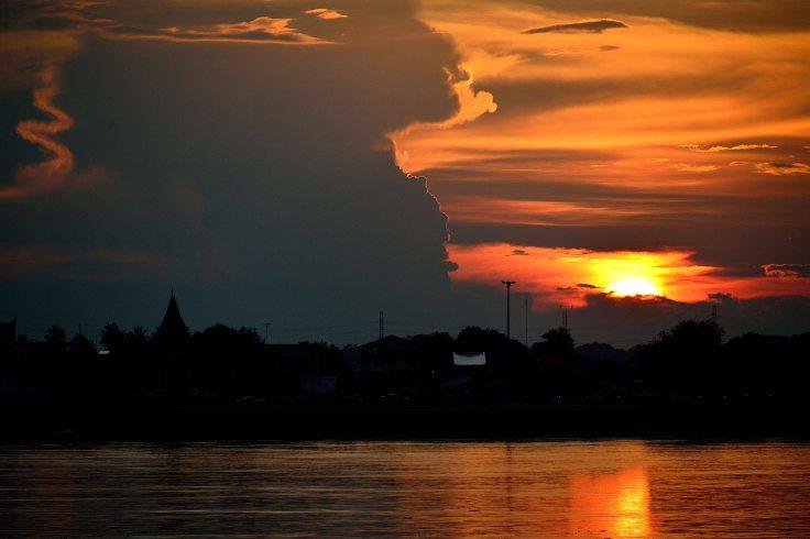 Thakhek, Laos, SE Asia, sunset