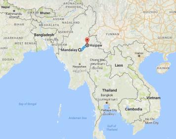 Burma, Hsipaw, Myanmar, Mandalay