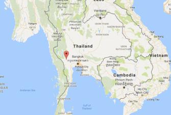 Kanchanaburi Thailand Map.Kanchanaburi The Good The Bad And The Ugly Image Earth Travel