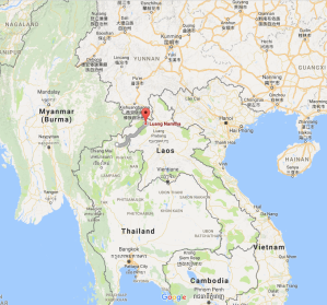 Chiang Rai, Thailand, Luang Namtha, Laos