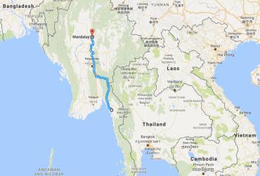 Mawlamyine, Mandalay, Burma, Myanmar