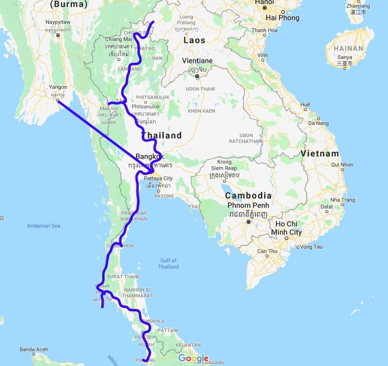 Border Crossing: Chiang Rai (Thailand) to Luang Namtha (Laos)