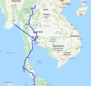 Thailand, Myanmar, Burma, South East Asia, travel