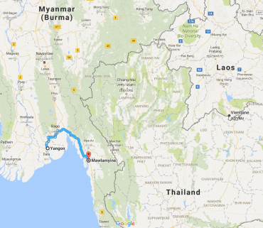 Mawlamyine, Yangon, Burma, Myanmar