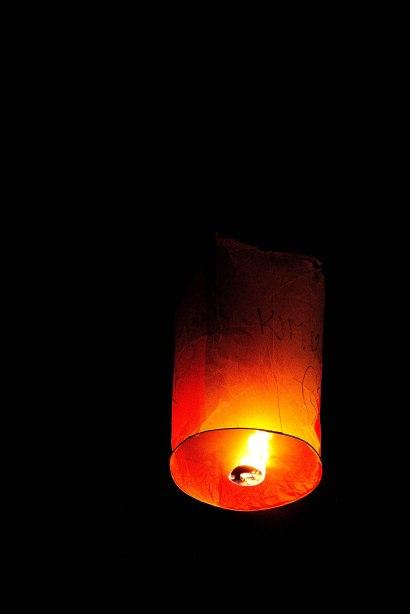Pakse, Bolaven Plateau, Laos, lantern