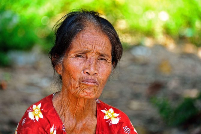 Laos, Don Khong, islands, woman