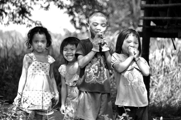 Laos, Don Khong, islands, locals